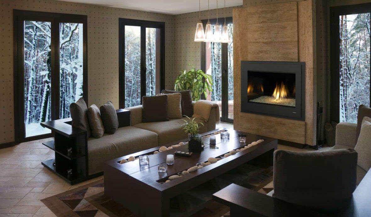 8000 Modern Fireplace