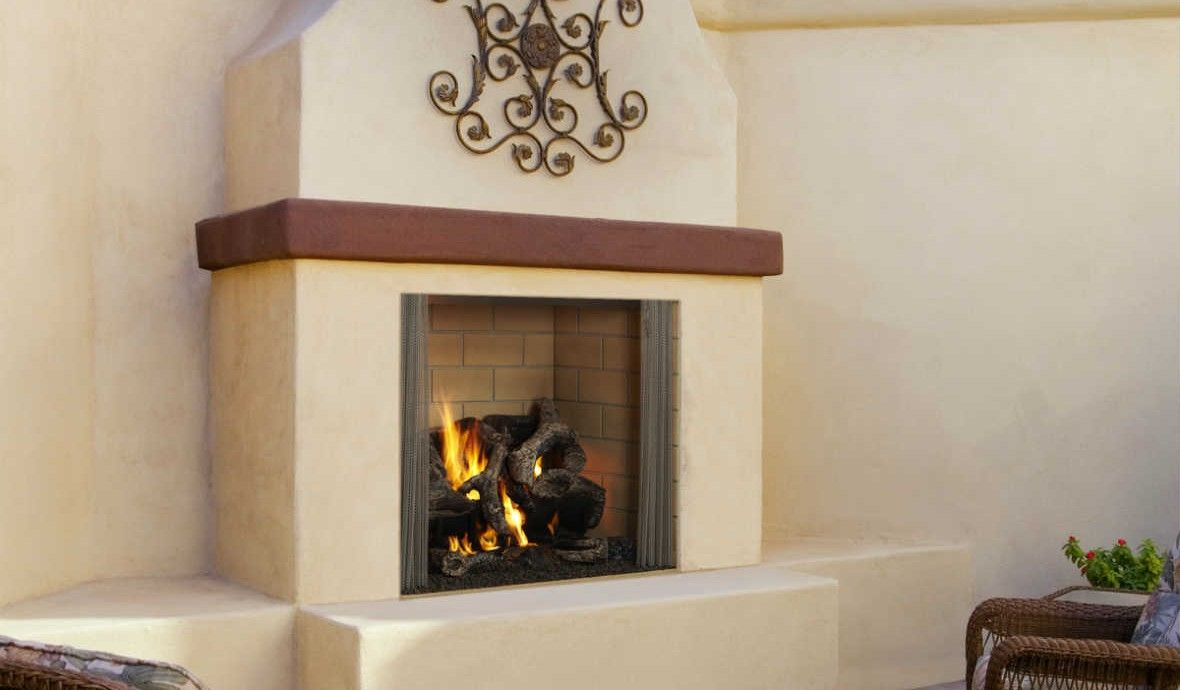 Castlewood 42 Outdoor Fireplace Cyprus Air Fireplaces Va
