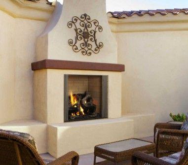 Castlewood 42 fireplace
