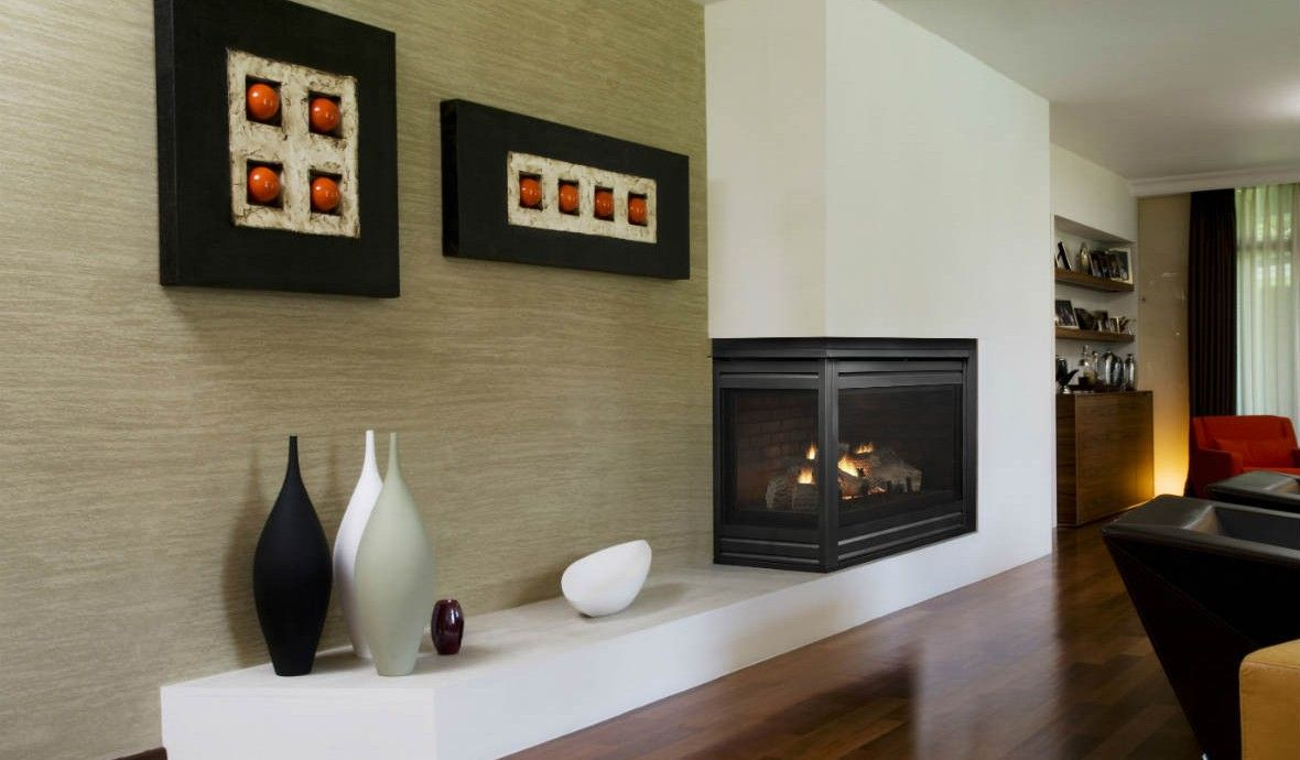 Corner Series Gas Fireplace