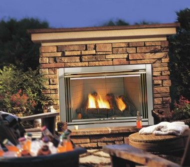 Dakota 42 Outdoor Gas Fireplace