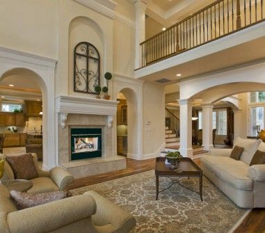 HST wood fireplace