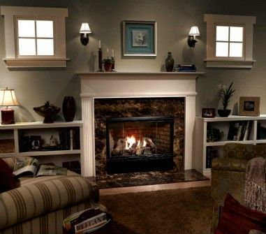 reveal fireplace