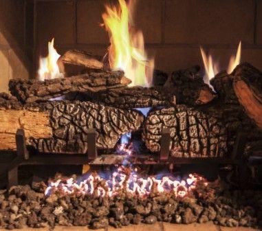 Manchester Oak Gas Logs