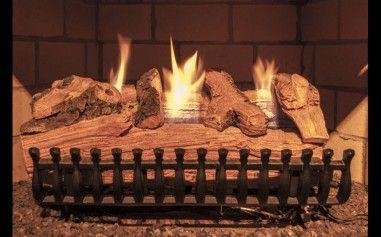 Split Pine Gas Logs