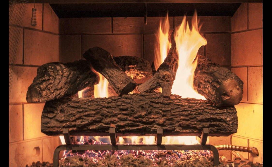 Virginia Oak Gas Logs