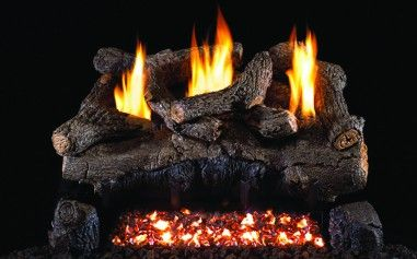 EVENING FIRE GAS LOGS