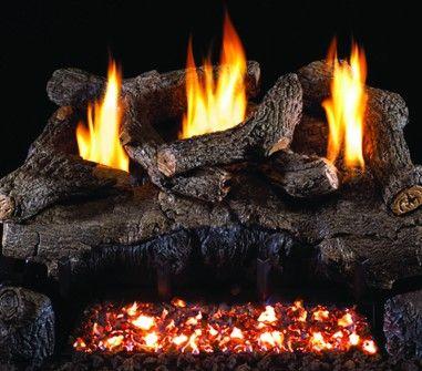 EVENING FIRE GAS LOGS