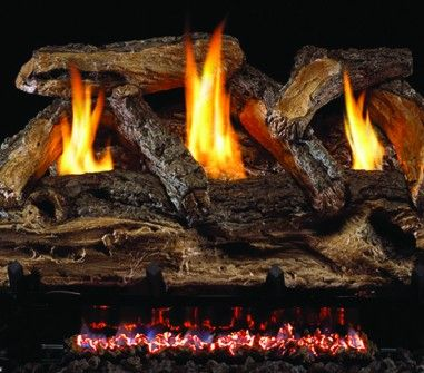SPLIT OAK GAS LOGS