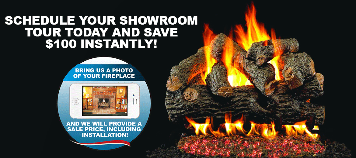 Gas Logs Cyprus Air Fireplace Systems